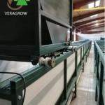ligne pour produire du Lombricompost sous hangar
