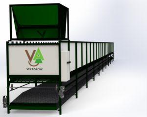 machine pour une production industrielle de Lombricompost